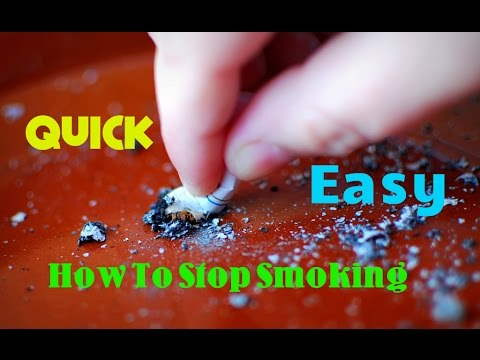 How To Stop Smoking - Stop smoking Tips (Stop Smoking Weed, Quit Quickly, Easy Method)