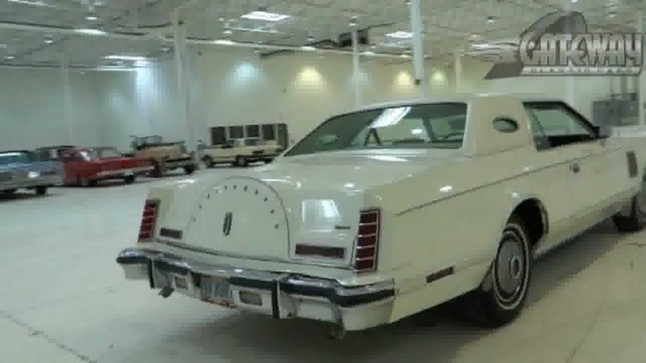 1978 lincoln continental mark v for sale chicago used. Black Bedroom Furniture Sets. Home Design Ideas