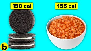 14 Food Comparisons That Will Make You Forget About Diets