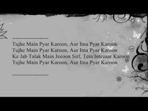 Tujhe Main Pyar Karu - 1920...lyrics... video