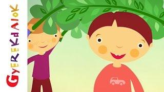 Bújj, bújj zöld ág (gyerekdal, rajzfilm gyerekeknek)