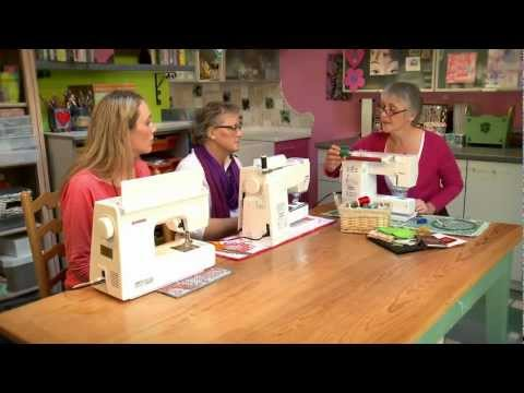 0 The Sewing Machine   Creative Free Machine Embroidery with Gina Ferrari