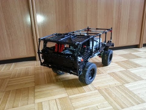 Lego Tatra T813 RC 4x4 Trial Truck V7 | Indoor Test | Lego Technic WIP