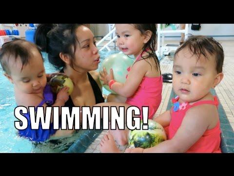 Swimming!!! - April 16, 2015 Itsjudyslife Vlogs video