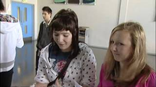 GCSE results day_ Video of pupils learning their grades