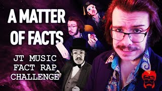 A MATTER OF FACTS  | JT Music Fact Rap Challenge