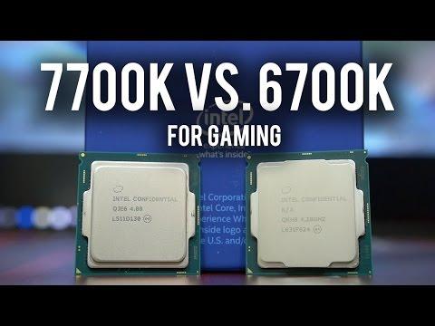 Kaby Lake 7700K VS. Skylake 6700K For GAMING! Core I7 Showdown