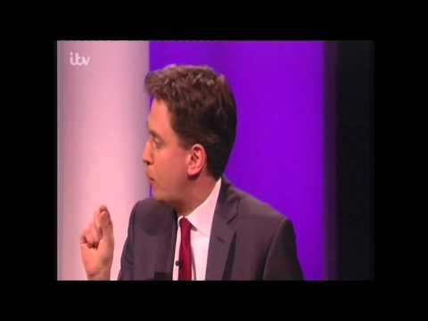 Miliband vs Myleene Klass