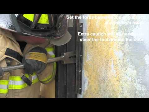 Forcible Entry Conventional Inward Opening Door With