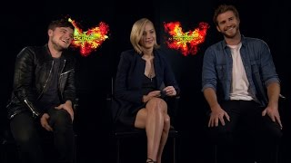 The Mockingjay Cast Fills Out Their Characters' Online Dating Profiles