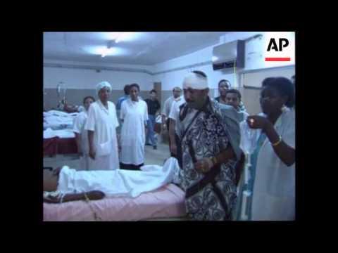 Comoros/Kenya-Hijacked Ethiopian plane crashes