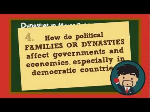 Dynasties in Democracies: The Political Side of Inequality