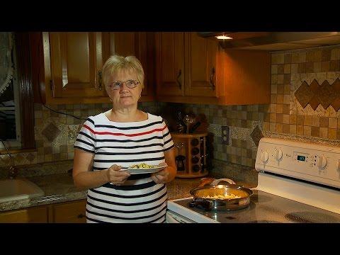 Как приготовить капусту с яйцом - видео