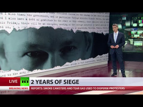 Assange 2yrs of lockdown 'even worse than being imprisoned' - WikiLeaks