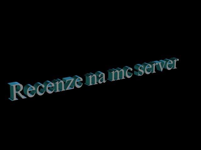 [Minecraft] Recenze na minecraft server ep.2 soucraft