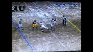 Sean Weatherspoon. FUNNIEST TD Interception in NFL history (SNOW GAME Packers vs Falcons) PART 2