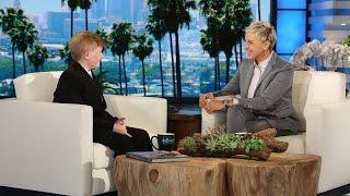Ellen Meets a Wonderful Kid Inventor