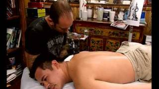 Miami Ink - Japanese Temple Guard