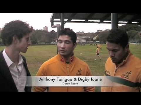 Doran Sports with Anthony Faingaa and Digby Ioane
