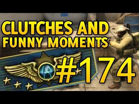 SUPREME CSGO Funny Moments and Clutches #174 CS GO