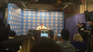 Pelicans F Anthony Davis on winning the 2017 All-Star MVP