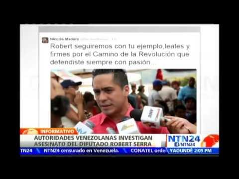 Asesinan en su residencia al diputado a la Asamblea Nacional de Venezuela Robert Serra