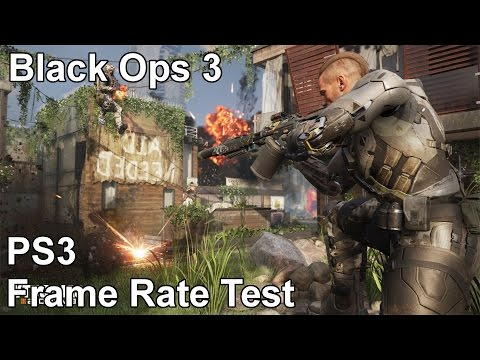 Call of Duty Black Ops 3 Playstation 3 Multiplayer Frame Rate Test