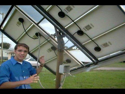 Passive Solar Panel Tracking