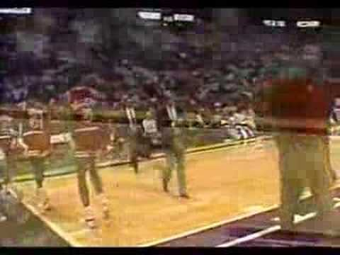 Bulls vs. Jazz - 1987 - Jordan 47 pts (The Other Flu Game)