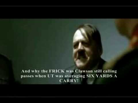 Hitler reacts to Tennessee's loss Video