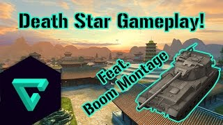 World of Tanks Blitz || Death Star! (feat. boom montage)