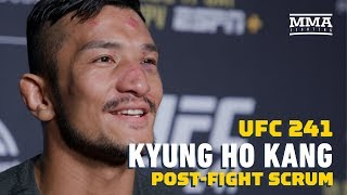 UFC 241: Kyung Ho Kang Wants To Fight In South Korea Next, Targets Urijah Faber  - MMA Fighting