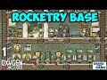 ROCKETRY UPGRADE BASE #1   Oxygen Not Included   Rockets, Gassy Moos And More!