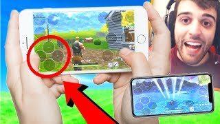 PLAYING Fortnite: Battle Royale on Mobile NOW! (iPhone and Android!)
