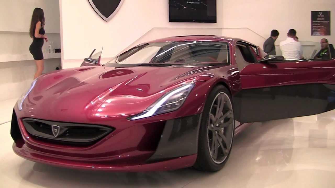 Fastest Electric Car In The World Iaa 2011 Youtube