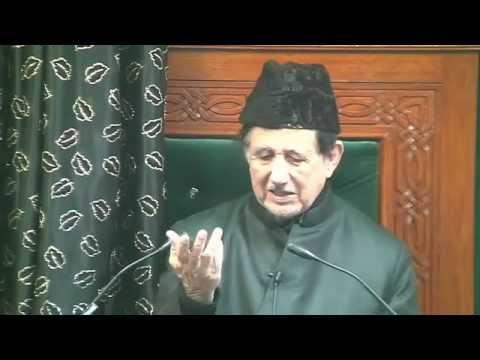 Eve 3rd Muharram 1437 - Maulana Dr. Kalbe Sadiq (Urdu)