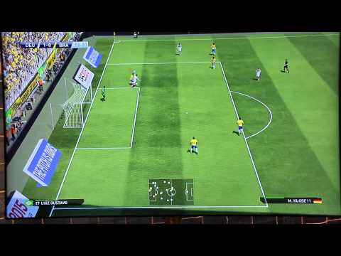 PES 2015 Gamescom Gameplay - DEUTSCHLAND vs BRASILIEN Full Match - 60 FPS [HD] - PS4/XboxOne/PC