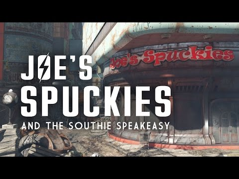 Joe's Spuckies, Postal Square,  Parson's Creamery, & the Southie Speakeasy - Fallout 4 Lore