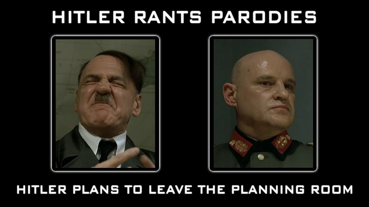 Hitler plans to leave the planning room