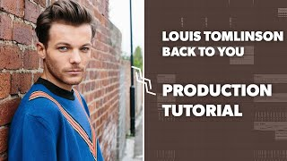 "Tutorial: Making ""Back To You"" Louis Tomlinson in Ableton! MAKING THE FAMOUS PLUCK SYNTH!"