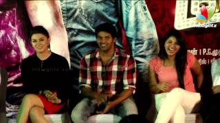 3 - Arya talks about his relationship with Nayantara | Also about LipLock with Anjali, Hansika