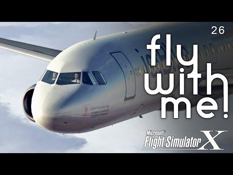 Microsoft Flight Simulator X - A320 to DCA