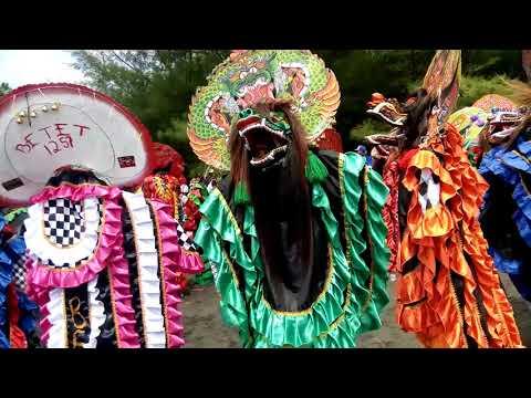 Festival  1000 barong serang blitar jin crew ,jatayu dadi siji sambung dulur / ngumpul dulur