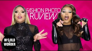 FASHION PHOTO RUVIEW: Drag Race UK Promo Looks with Mariah and Vanjie!