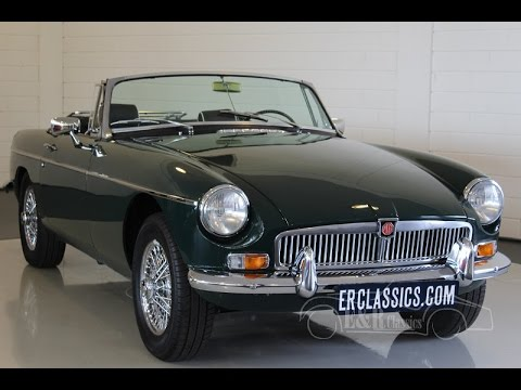 MG MGB Cabriolet 1969 overdrive body off restored Topcondition -VIDEO- www.ERclassics.com