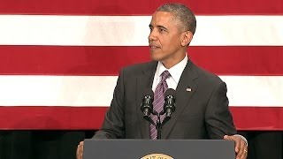 President (Obama) Speaks to the League of Conservation Voters  6/26/14