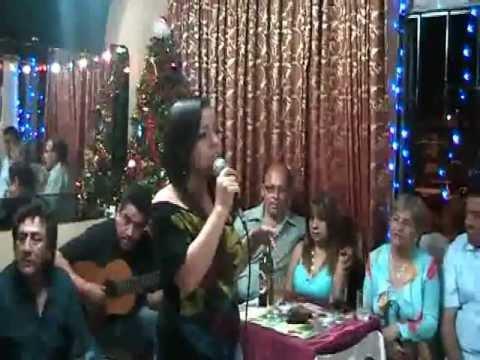 JOHANITA FIGUEROA CANTA VENDAVAL, ENTRE AMIGOS..MACALUPU