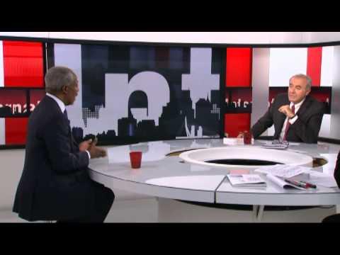 Kofi Annan sur TV5Monde: