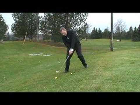 Uphill Chip Shot and Short Pitch