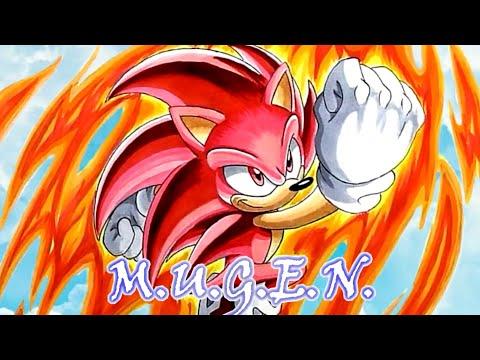 Super Sonic God char mugen download